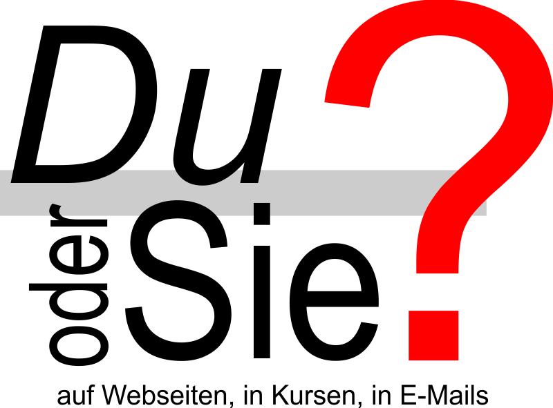Du oder Sie – Umfrageergebnis